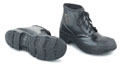 6 inch PVC Mens Black Work Shoe - 025-86604X